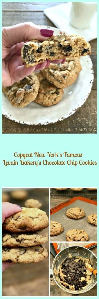 Copycat New York's Famous Levain Bakery's Chocolate Chip Cookies -My Way! – Skinny Sweets Daily
