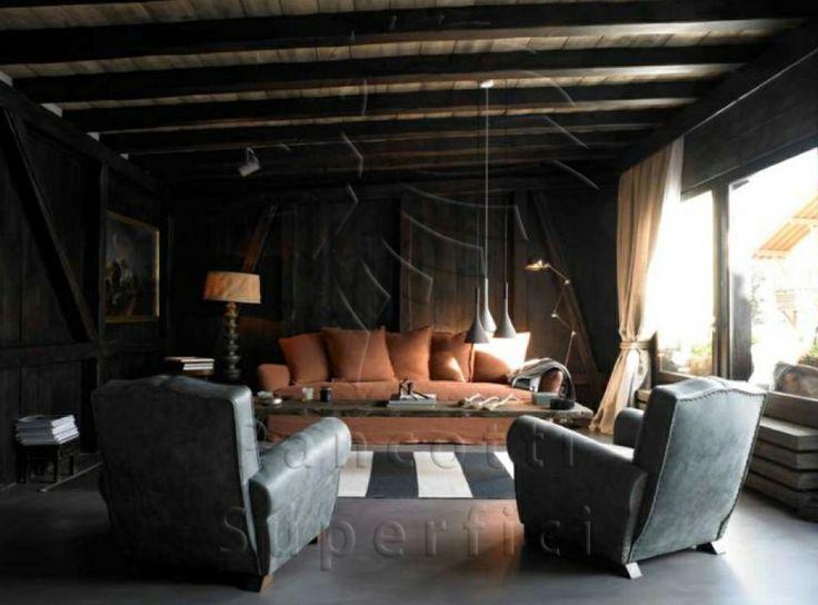 Casa privata St. Moritz   design Francesca Neri   materiali Pancotti Superfici