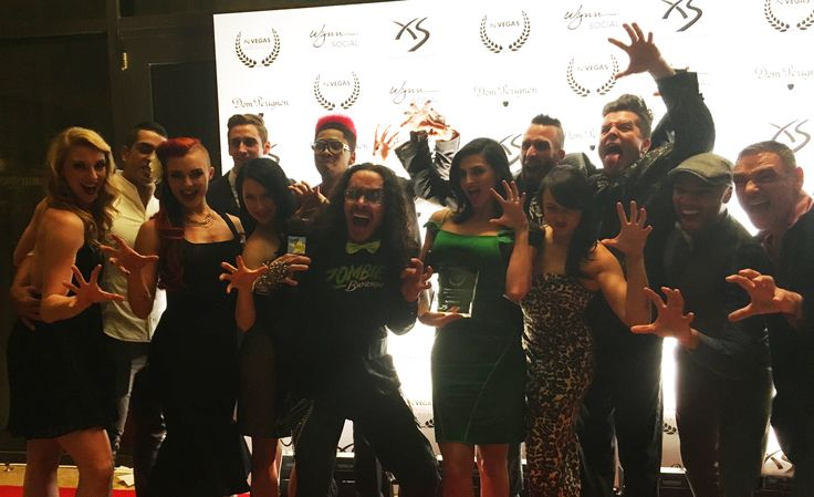 These #zombies sure do clean up nice! ;-) We couldn't have been more honored to receive #BestAdultShow this weekend from In VEGAS Magazine, congratulations to the cast and crew for all their hard work. #ZombieBurlesque #BestShowsinVegas