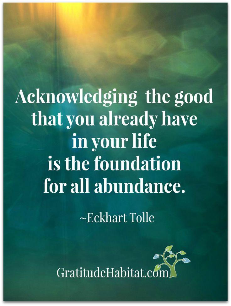 Gratitude = Abundance