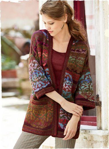 Peruvian Connection | Kaffe Fassett's exclusively beautiful Mandala Kimono
