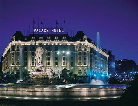Westin Palace Hotel Madrid, Spain where my husband & I stayed for our honeymoon