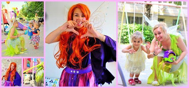 Tinkerbell party kids Детский праздникс феями Фея динь-динь и лесные феи