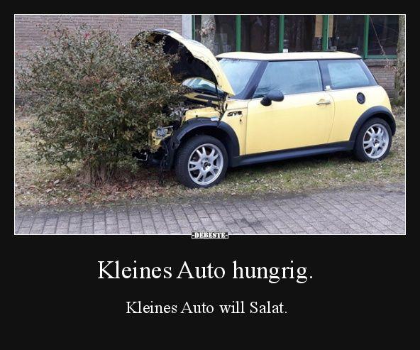 Kleines Auto hungrig. | Lustige Bilder, Sprüche, Witze, echt