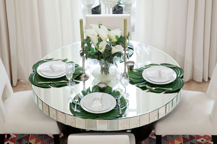 Mirror Dining Table | JHR Interiors