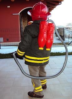 Anniversaire enfant thème pompiers - Déguisement pompier