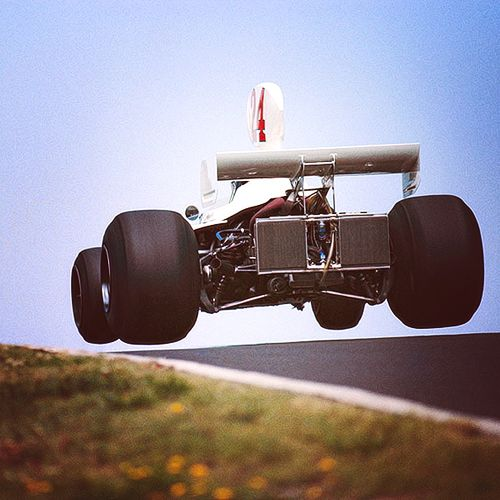 James Hunt - Hesketh - German GP 1975