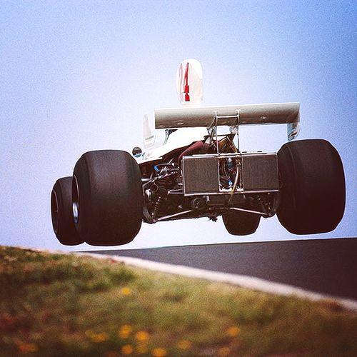 James Hunt - Hesketh - German GP 1975
