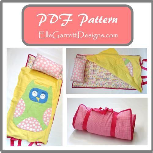 PDF Pattern - Owl Nap Mat Pattern on Etsy, $5.00