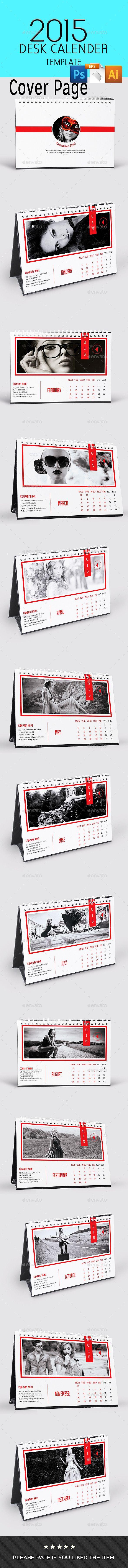 Multipurpose/Fashion Desk Calendar
