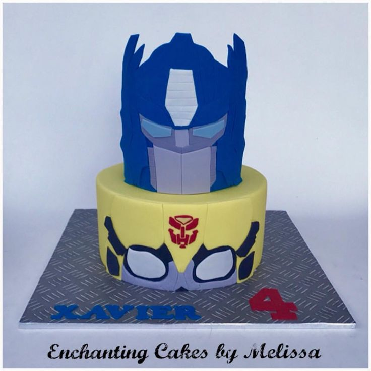 57 best Transformer cakes images on Pinterest Transformer cake