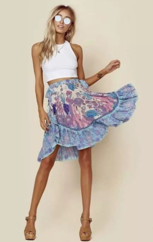 2d79953f54f1 Spell And The Gypsy Siren Song Skirt | eBay | Ebay | Skirts, Tie dye ...