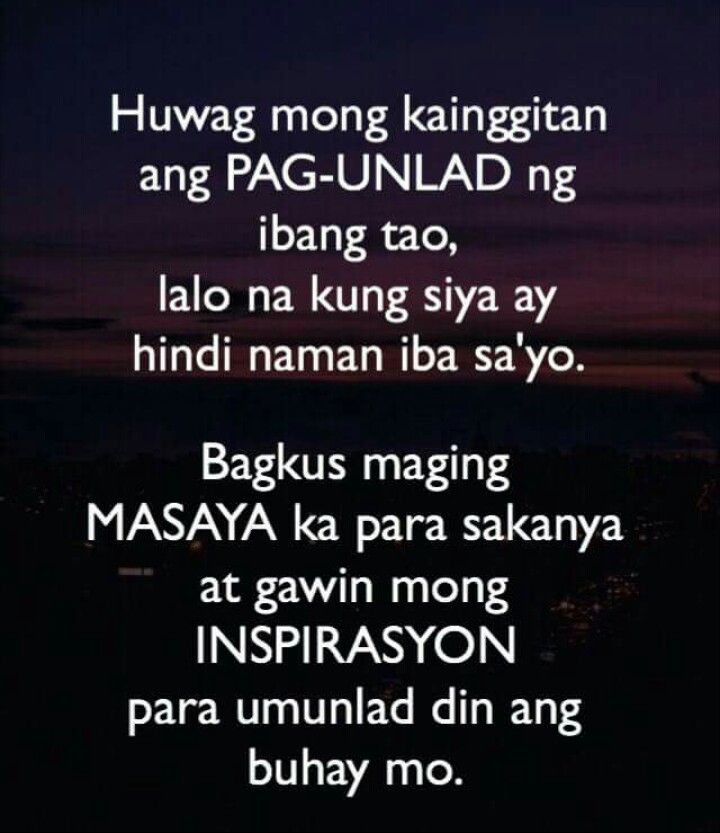 About Quotation Tagalog Life