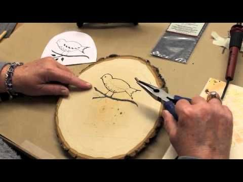 Wood Burning for Beginners using the Creative Versa-Tool® by Walnut Hollow