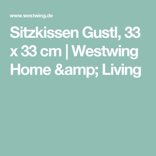Sitzkissen Gustl, 33 x 33 cm   Westwing Home & Living