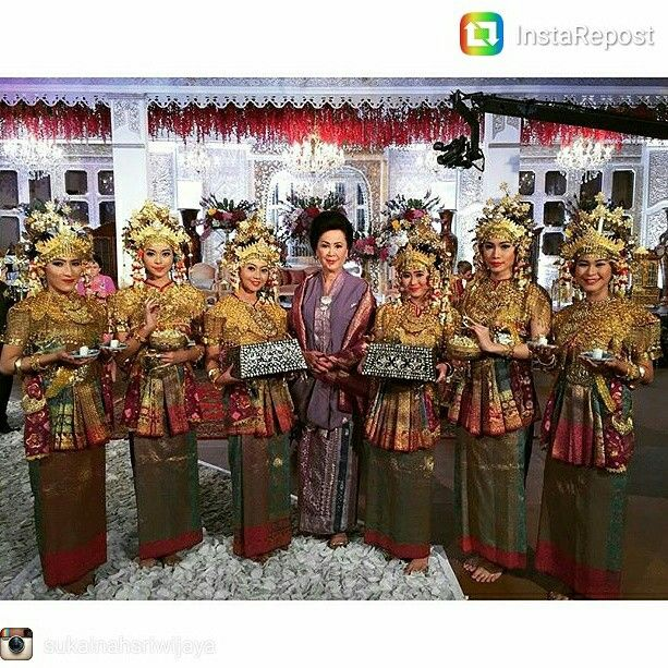 Dilla Saman Wedding Sanggar Sukainah Sriwijaya