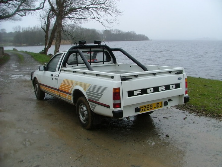 Pièces détachées Auto FORD P100 Pick up II 2.0 78CV [1987 1992]