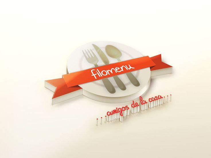 Logo realizado para el Restaurant de cocina de autor #Filomenu Ciudad: Bogotá / Colombia