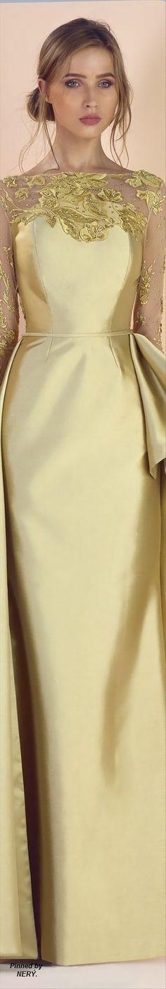 @roressclothes closet ideas #women fashion golden lace dress