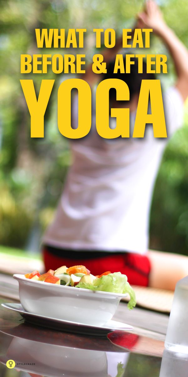 Do you perform yoga regularly? And if you do, are you aware of what food you should be taking before and after performing yoga?