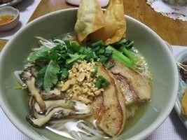 ベジタリアン・タイ料理 米粉100%の麺でタイラーメンを作ります!