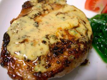 INGREDIENTES 4 chuletas delgadas de cerdo con hueso 1/8 de cucharadita de pimienta negra molida 3 cucharadas de salsa de soja liviana 1 cuc...