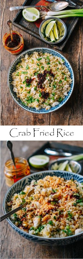 #Crab #Fried #Rice recipe by the Woks of Life