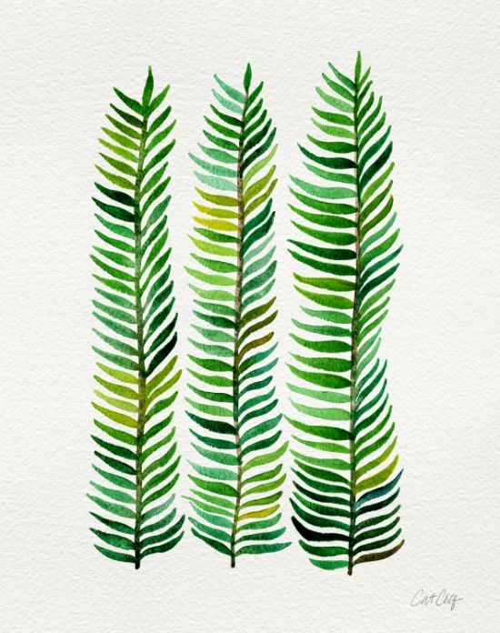Seaweed Art Print by Cat Coquillette | Society6 https://society6.com/product/seaweed-07x_print#1=45