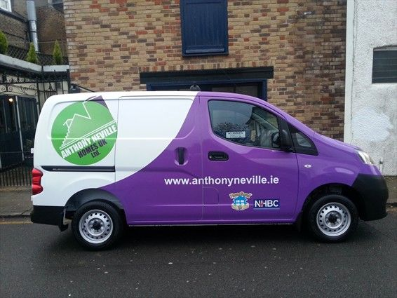 Creative FX Commercial Vehicle Signage, Van Signwriting, Fleet ...
