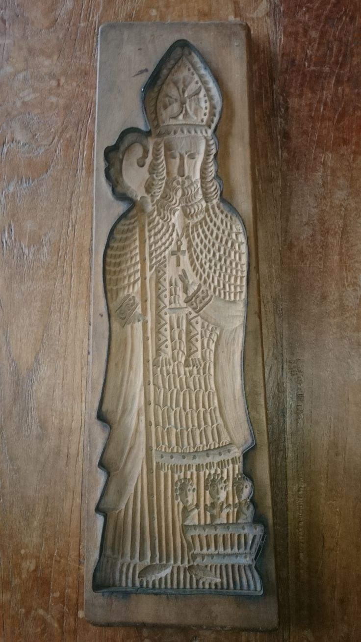 antieke Sinterklaas - antique St Nicholas - Antik St Nikolaus