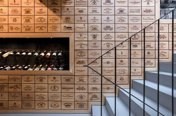 Wijnwinkel in Rotterdam door AAAN - alle projecten - projecten - de Architect