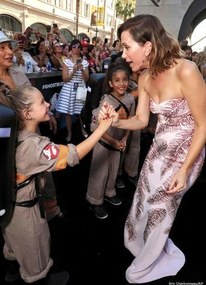 "Kristen Wiig at ""Ghostbusters"" premiere                                                                                                                                                                                 More"