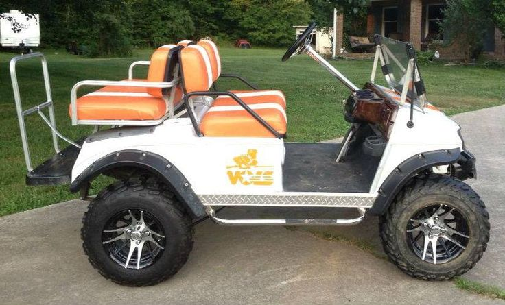 Tennessee volunteer golf cart university of tennessee for Narrow golf cart