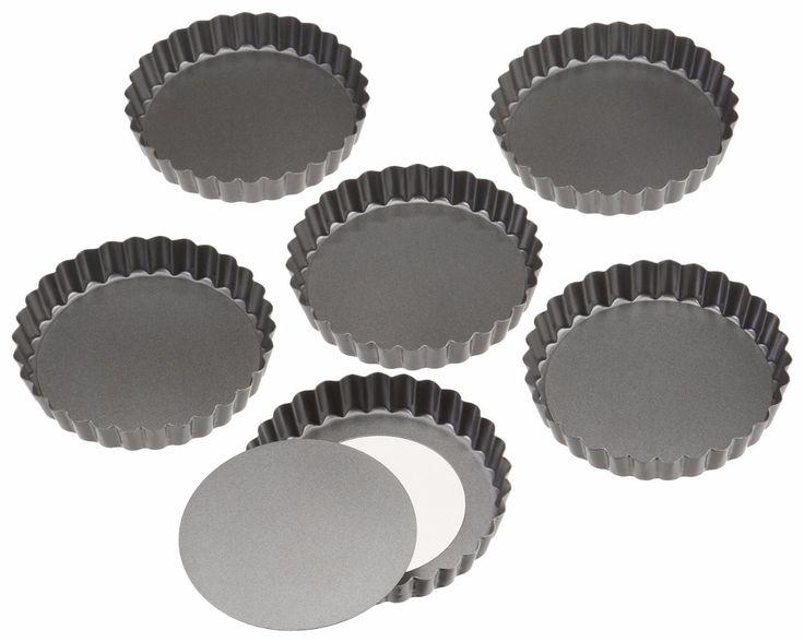 MOLDES PARA TARTALETAS: Se elaboran las tartas para darle la forma.