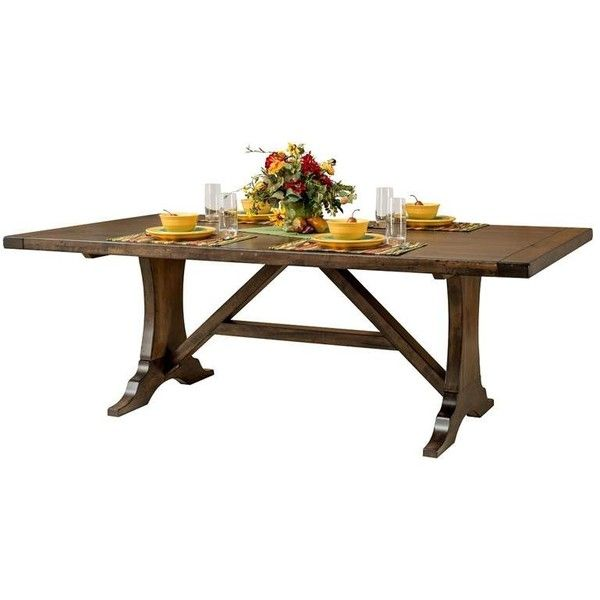 amish westin table  33 570 czk      liked on polyvore featuring home furniture best 25  square kitchen tables ideas on pinterest   square tables      rh   pinterest com