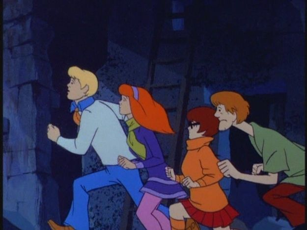 """DOO: Wear something you can run around in. Mystery solving can take you places you never expected to go, like """"sweaty."""" 