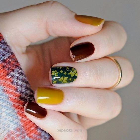 In diesem Herbst geht es darum, mutige Nagelfarbentscheidungen zu treffen ...