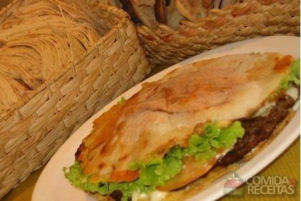 Receita de Beirute de rosbife - Comida e Receitas