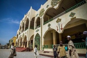 Outside of the Emir's palace in Zaria