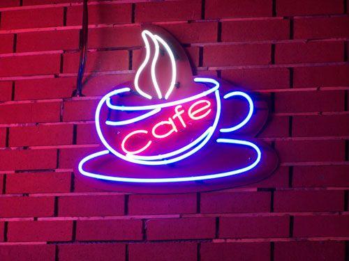 Dialogue Cafe Neon Tabela.  Boran Reklam diğer Tabela Örnekleri: www.boranreklam.com/tabela/