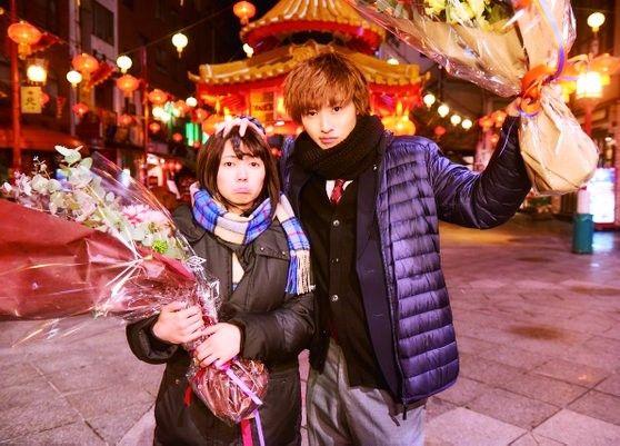 "[Trailer w Eng sub] https://vimeo.com/159904936      Fumi Nikaido x Kento Yamazaki, J LA movie ""Ookami shoujo to kuro ouji (Wolf girl n black prince)"". Release: May/28/16"