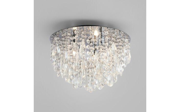 Ravenna Flush Clear Glass Pendant Light at Laura Ashley