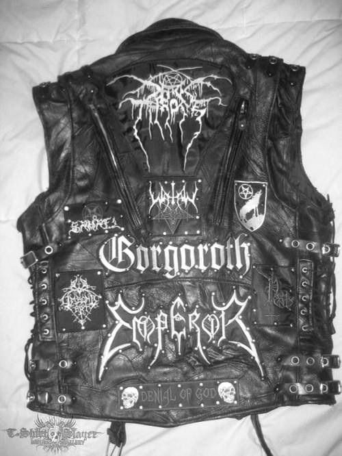 This has to be the sickest black metal vest I have ever seen