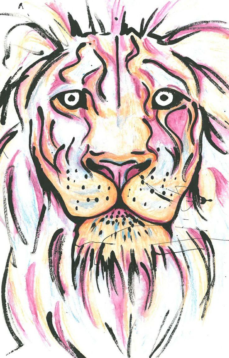 Lion By Jane Burton