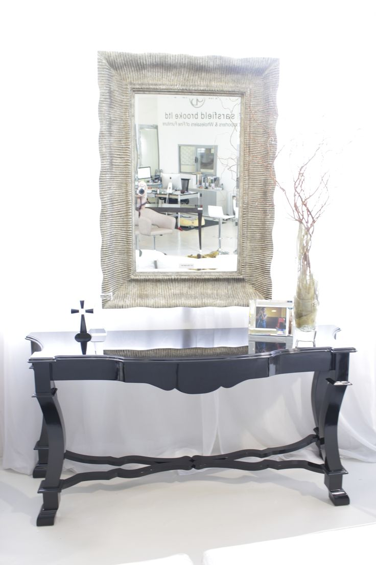 Kent Console made in Ecuador by La Galeria. Available at Sarsfield Brooke.