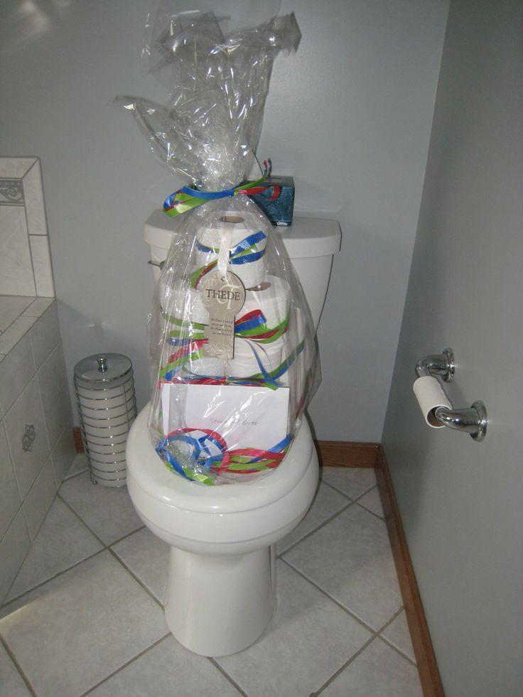 Toilet Paper Cake Housewarming Gift My Stuff