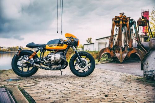 """1988 Bmw RT80 Cafe Racer """"The Covenant"""" by WUNDERKIND-Custom #motorcycles #caferacer #motos   caferacerpasion.com"""