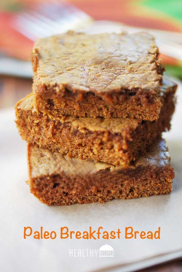 This paleo breakfast bread is packed with healthy fats and protein, yet it has the taste and texture of honey cake. I had my doubts when I saw the ingredients list, but magically, the ingredients did transform into a delicious bread with a tender crumb and a pleasant honey flavor.