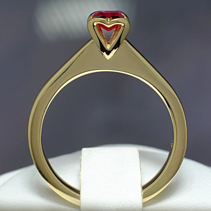 Inel din aur, cu rubin II Cod produs: i512Rb