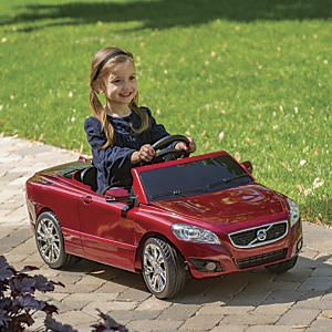 volvo c70 6 volt ride on toy who wants a test drive